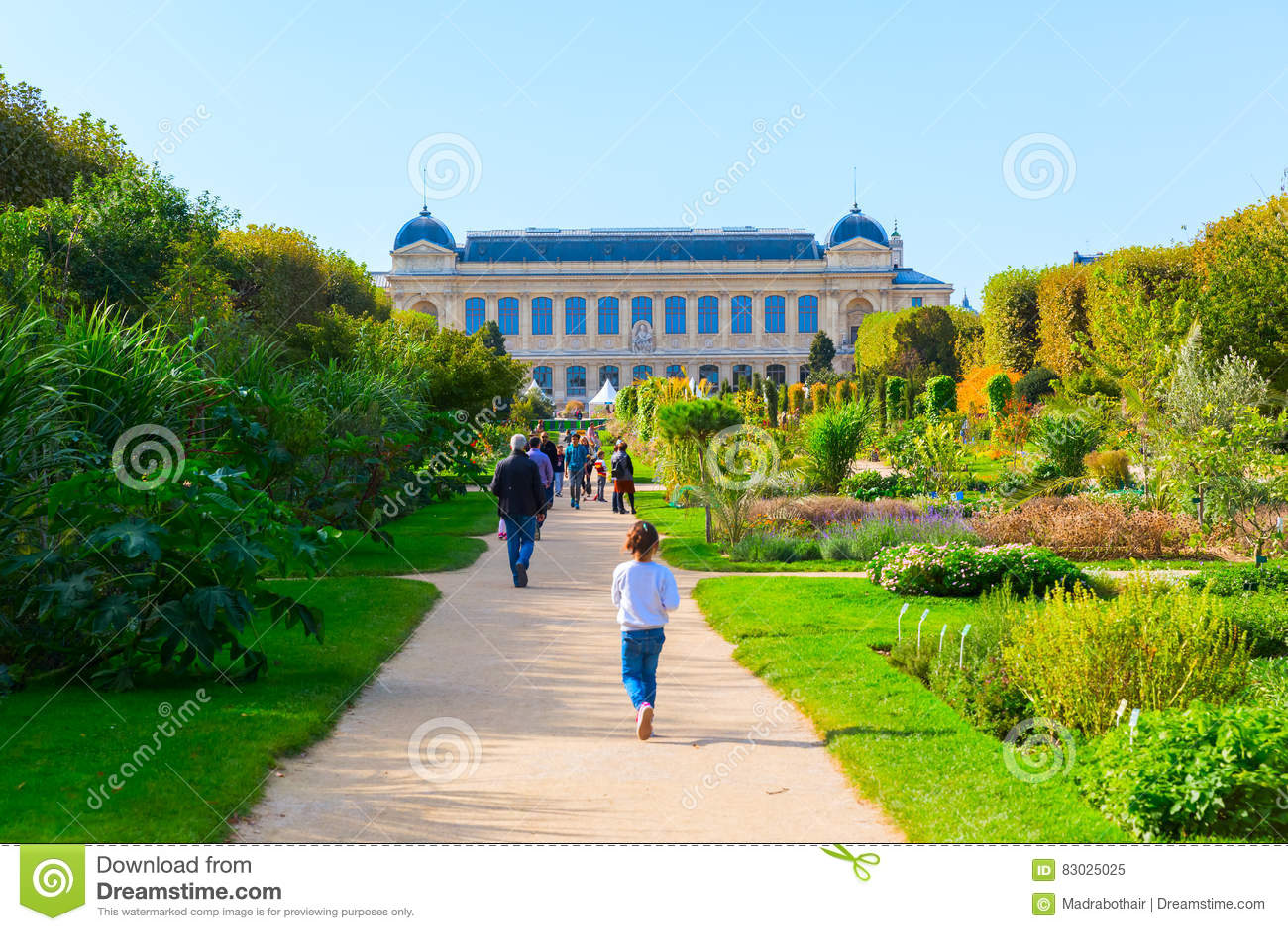 Jardin Des Plantes In Paris, Frankreich Redaktionelles Bild ...