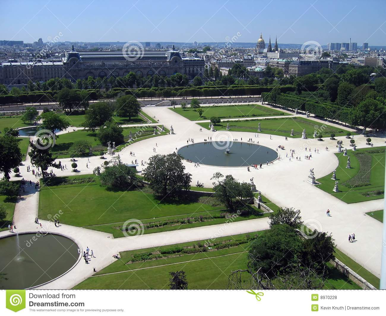 Jardin des tuileries stock photo image of garden for Tuilerie jardin