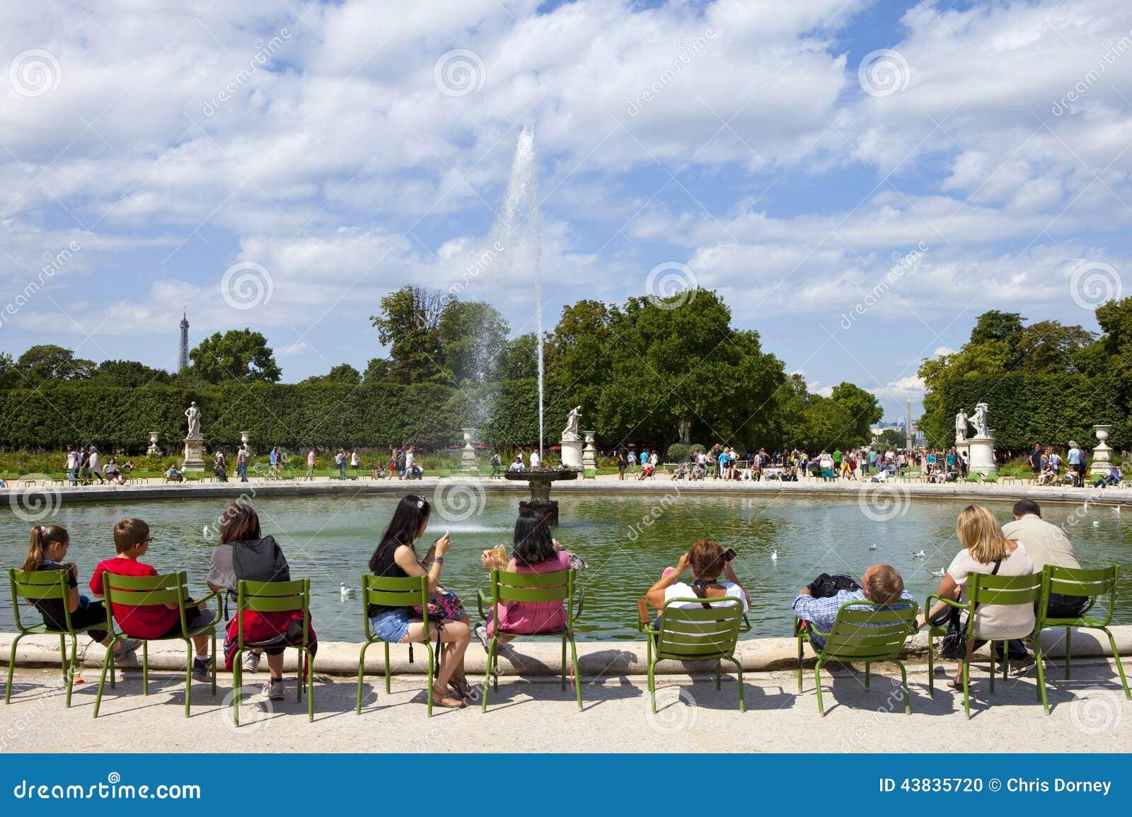 Jardin des tuileries in paris editorial image image for Jardin de france