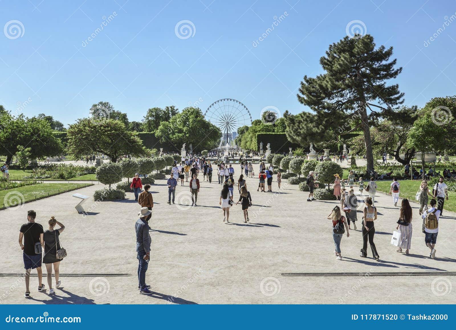 Jardin Des Tuileries Editorial Image Image Of Public 117871520