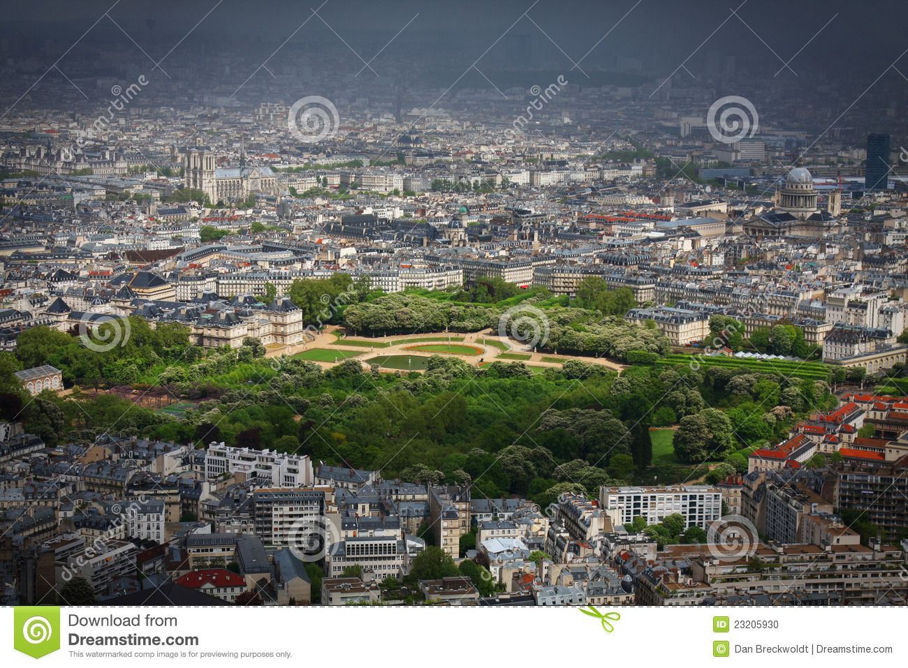 Jardin du luxembourg in paris stock photo image 23205930 for Jardin luxemburgo