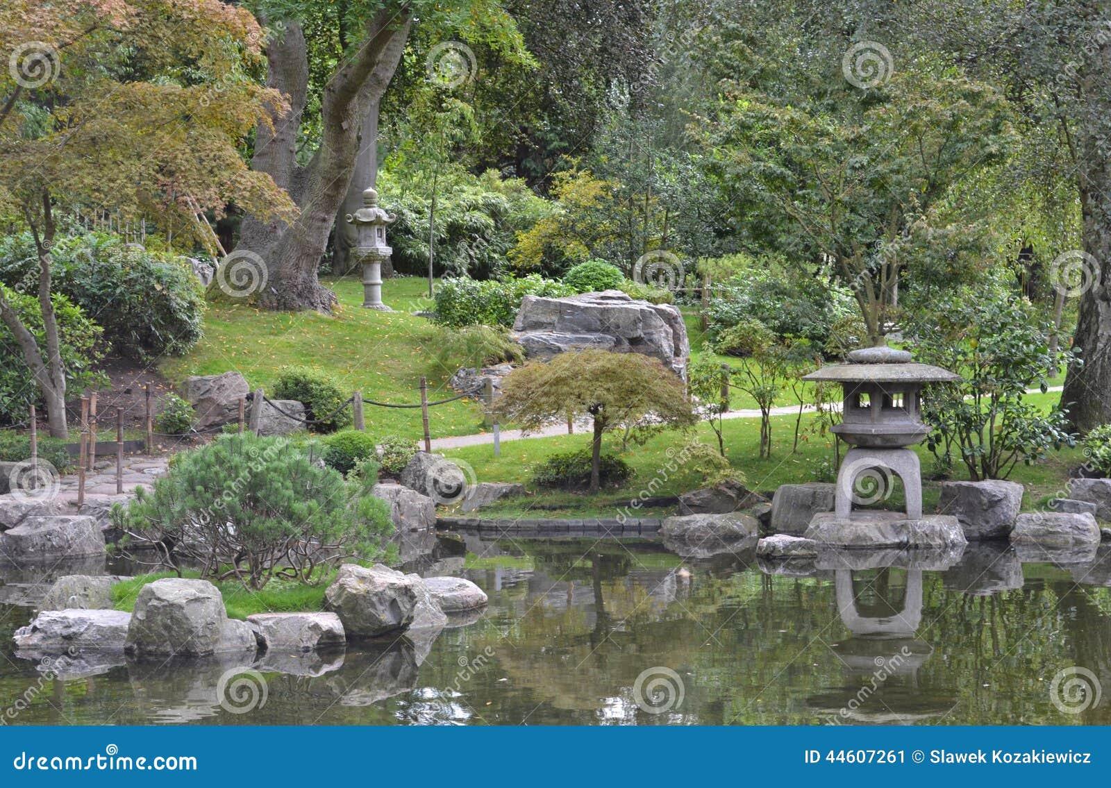 Jardin holland park london de kyoto de japonais photo for Jardin kyoto