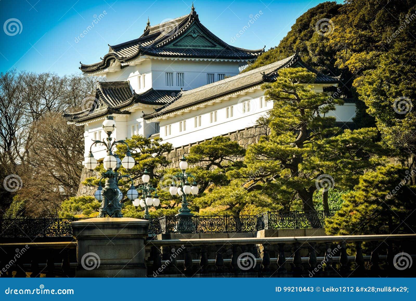 Jardin impérial de Tokyo de palais