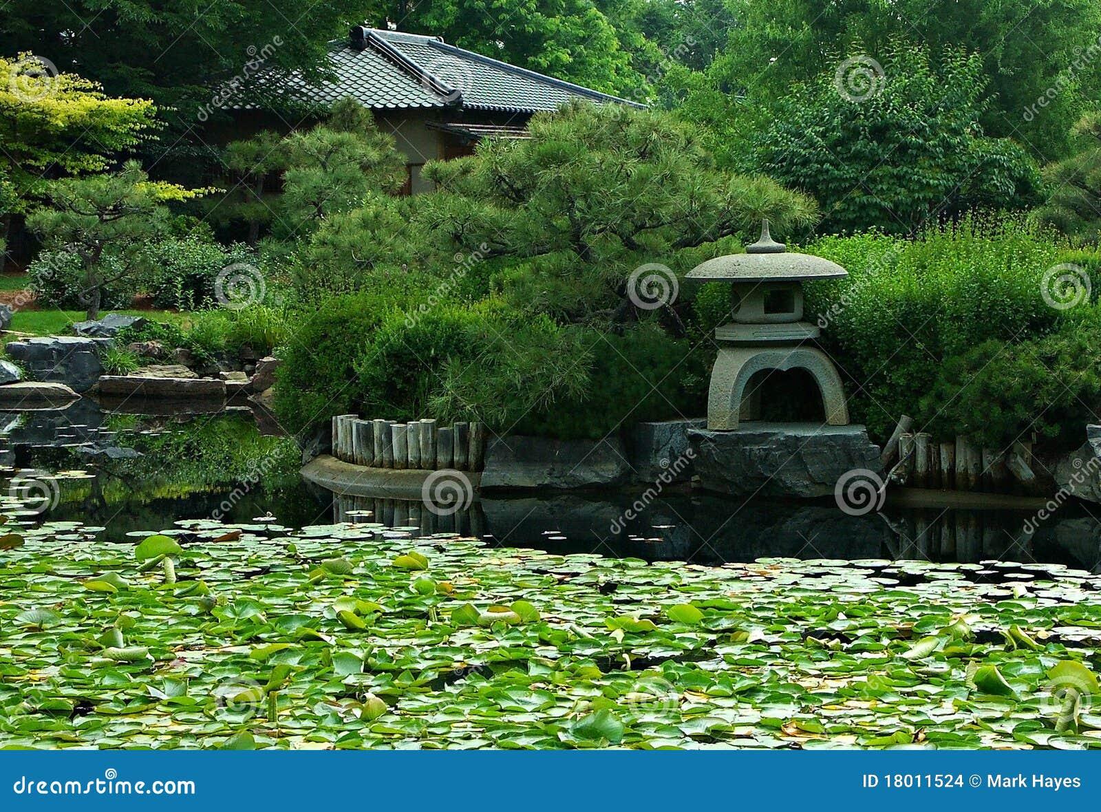 Jardin japonais images stock image 18011524 for Plan jardin japonais
