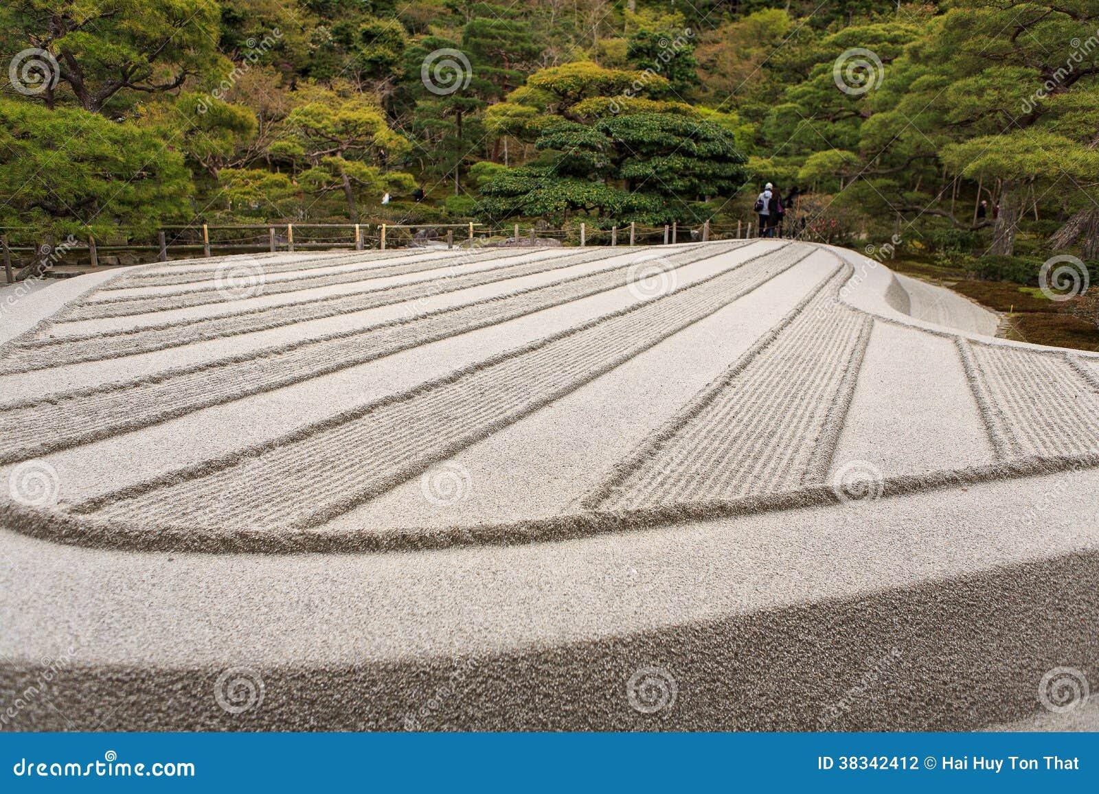 Jardin japonais de zen kyoto photographie stock image - Modele jardin zen ...