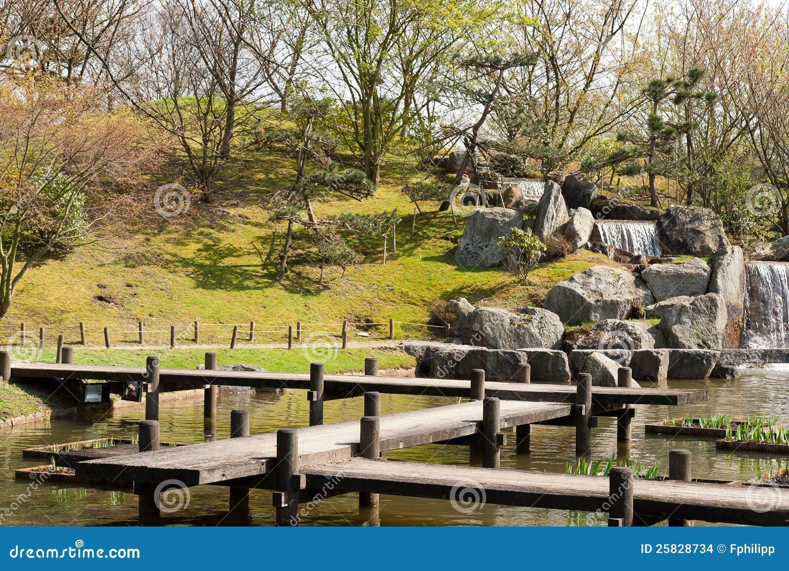 Jardin Japonais Hasselt Belgique Photo Stock Image Du Cote