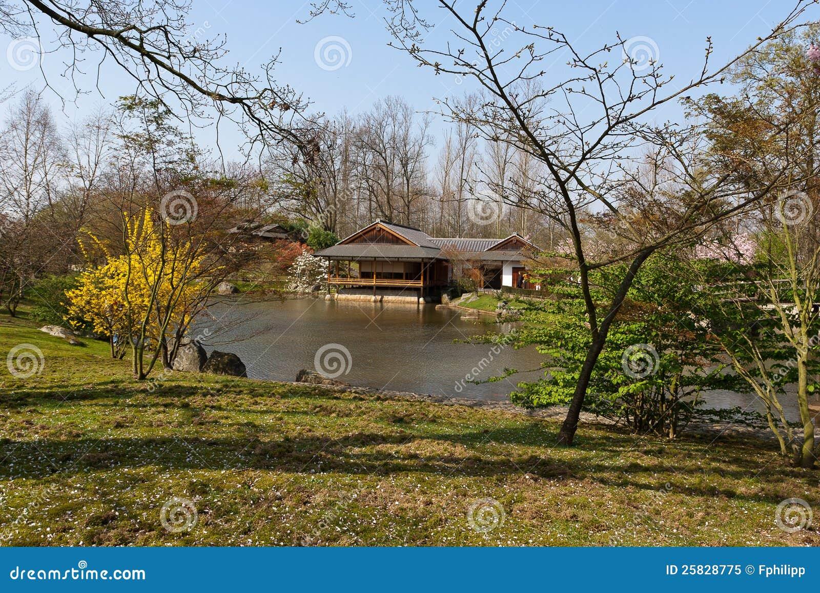 Jardin Japonais, Hasselt, Belgique Photo libre de droits ...