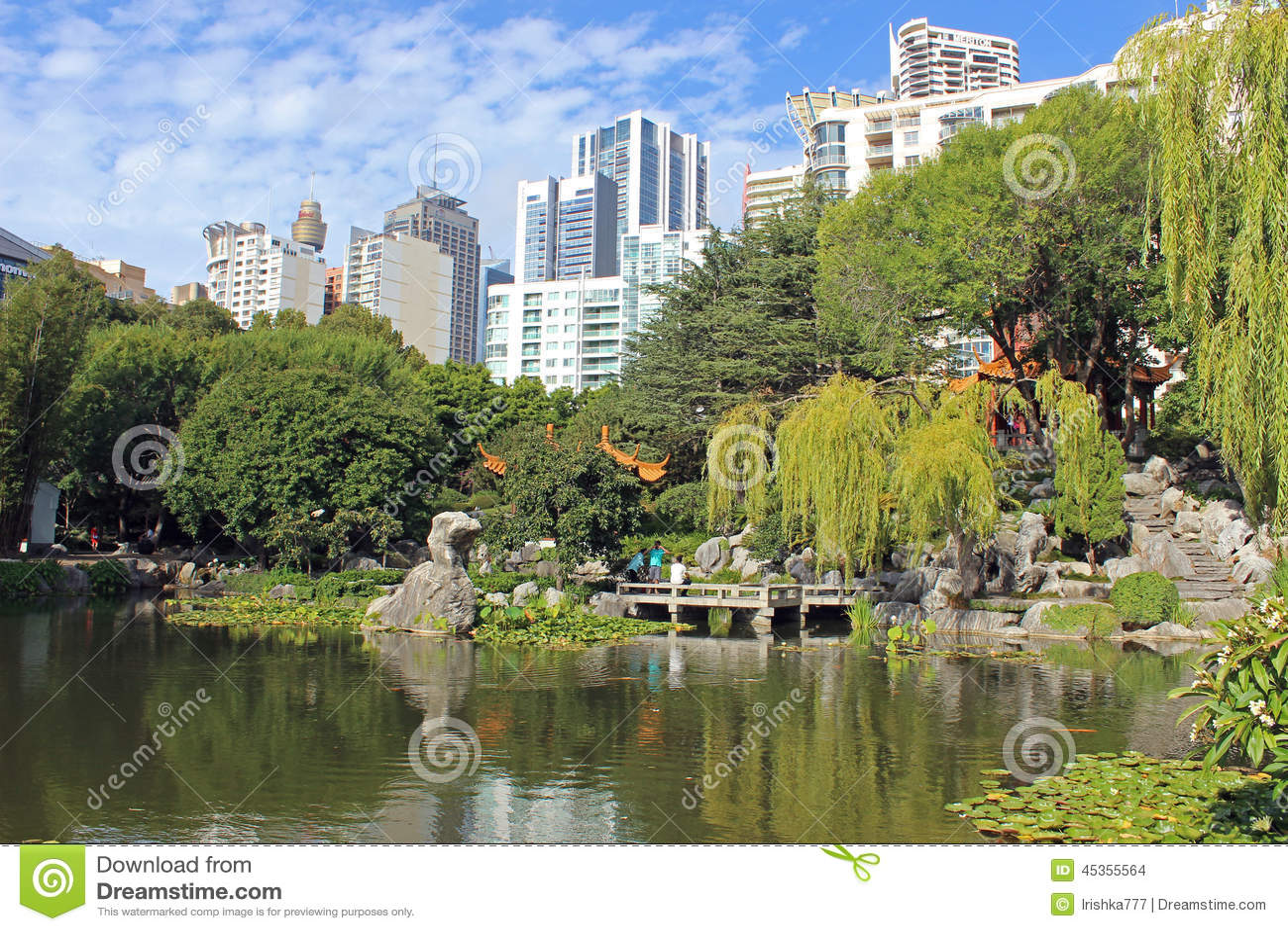 Jardin japonais sydney australie image stock ditorial for Jardin pittoresque