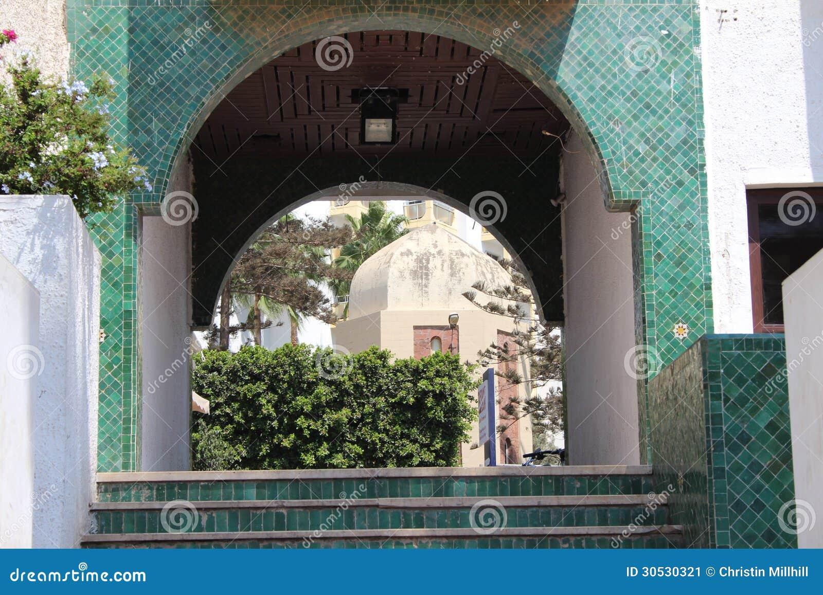 Jardin majorelle marrakech stock image image 30530321 for Jardin yves saint laurent marrakech