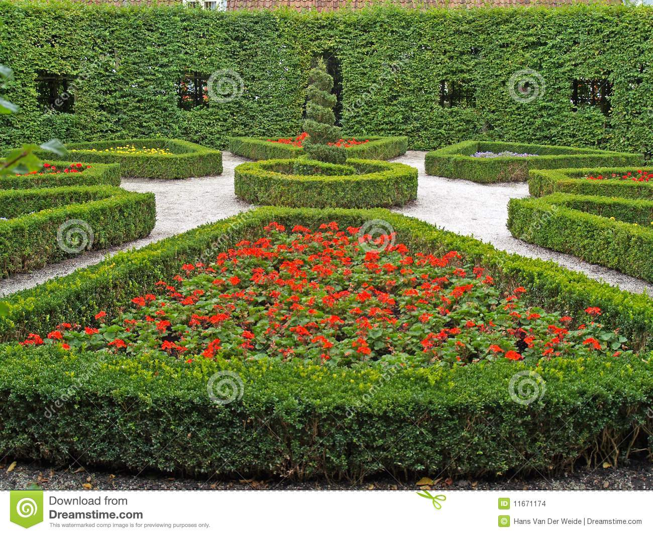 Jardin public de conception images stock image 11671174 for Jardin public