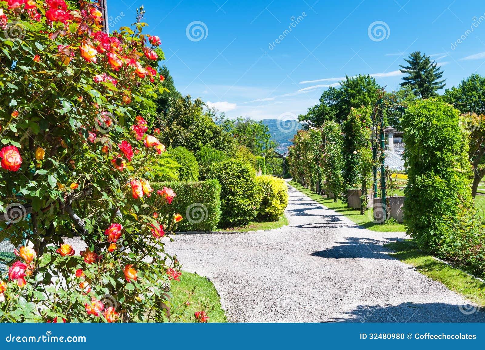 Jardin public de villa tarente en italie photo stock for Jardin d italie chateauroux