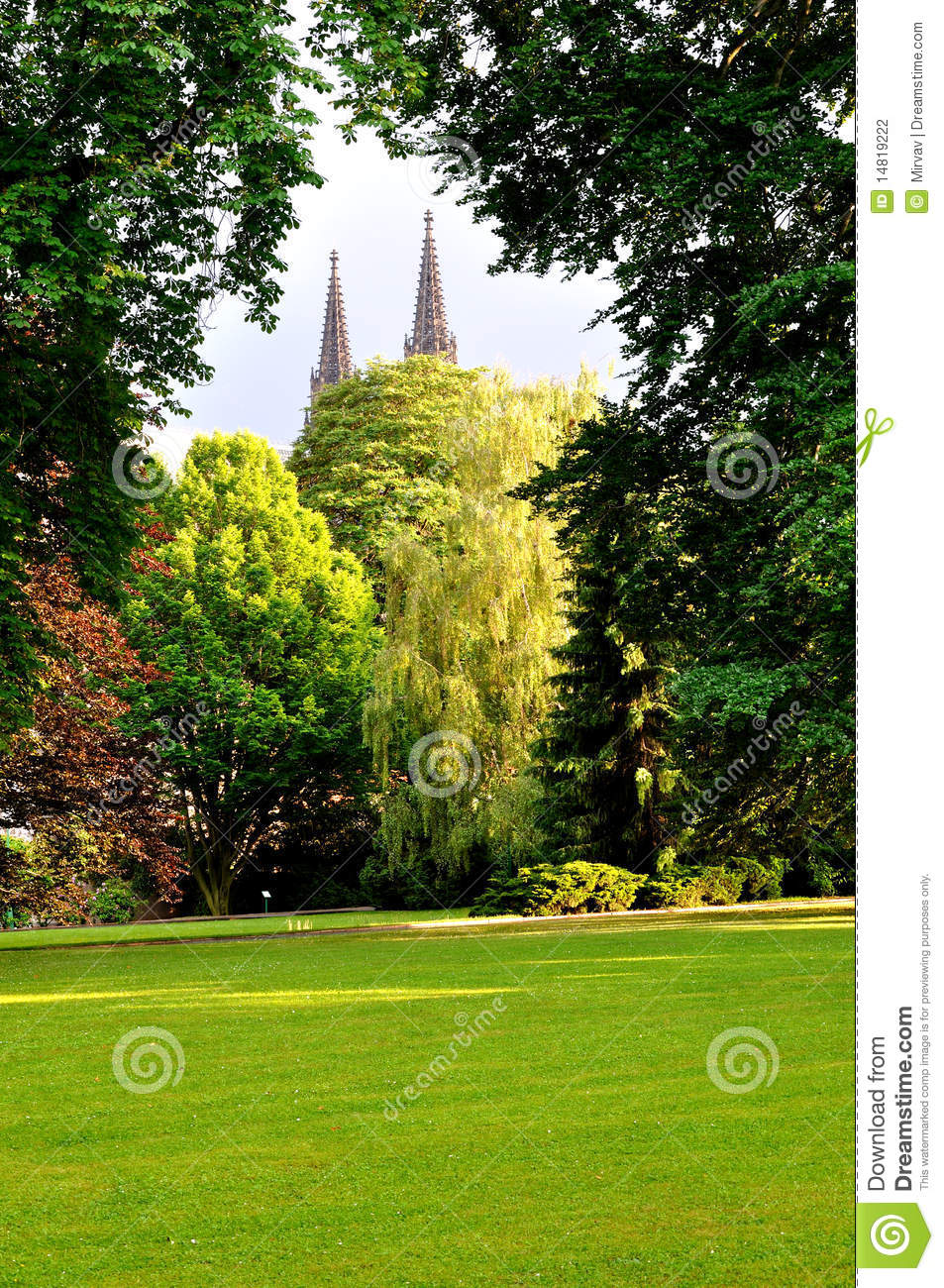 Jardin royal prague photographie stock image 14819222 for Jardin royal