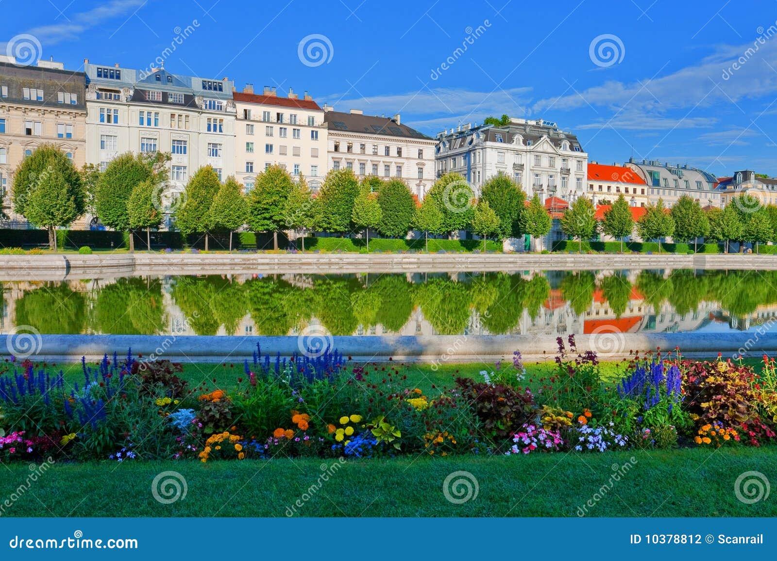 Jardin Vienne de belvédère de l Autriche