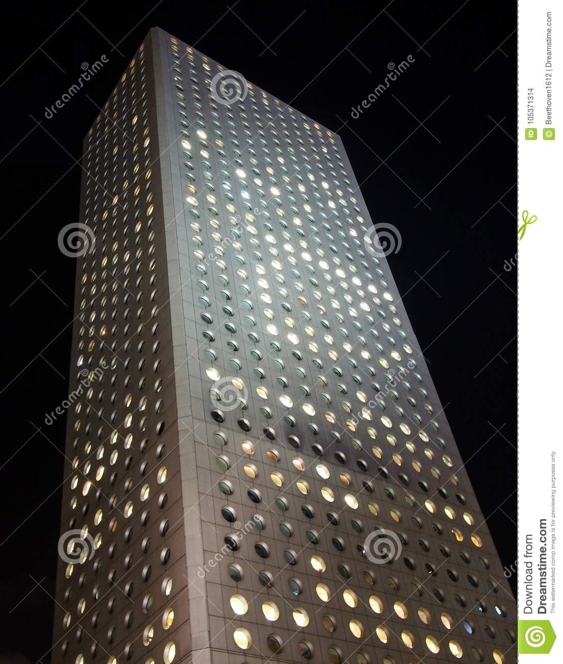 Jardine Matheson Office Hong Kong: Jardine House In Hong Kong Stock Photo. Image Of Asia