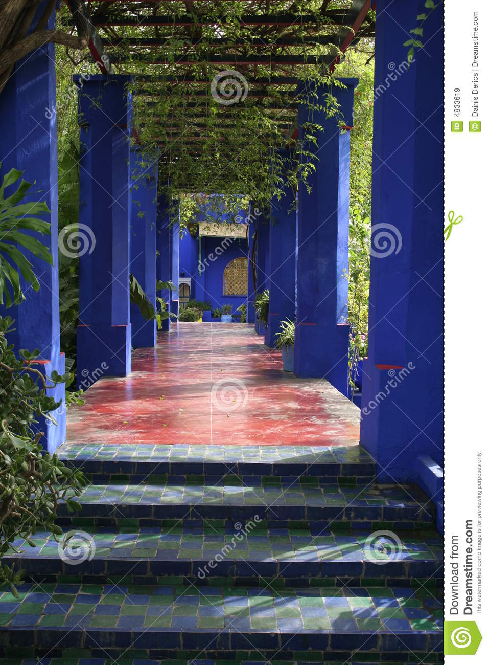 Jardine majorelle royalty free stock images image 4833619 for Jardin jardine
