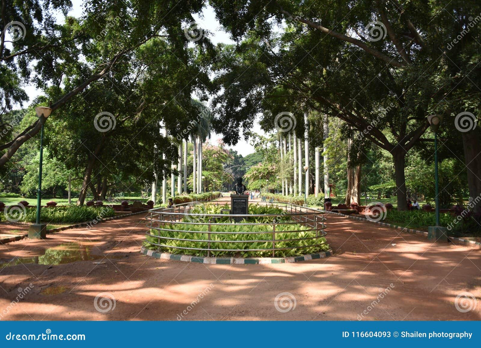 Jardines botánicos de Lalbagh, Bangalore, Karnataka,