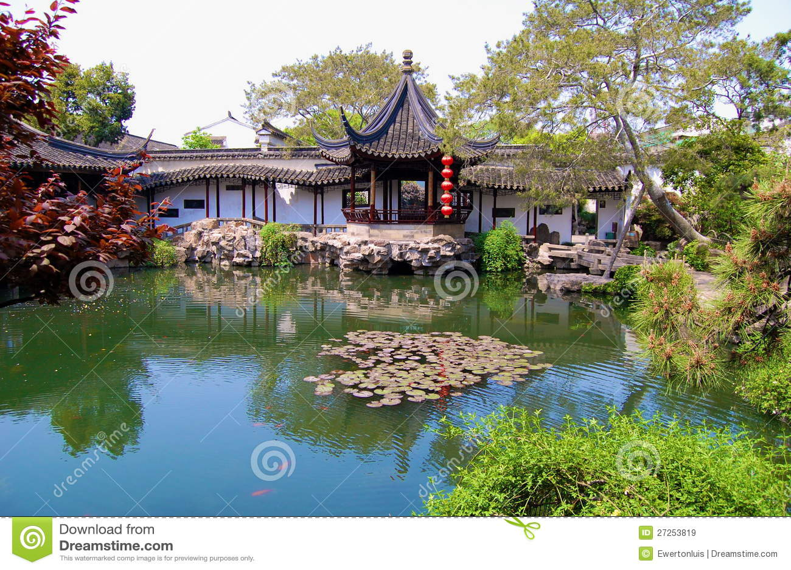 Jardines chinos imagen de archivo imagen de gardening for Jardines chinos pequenos