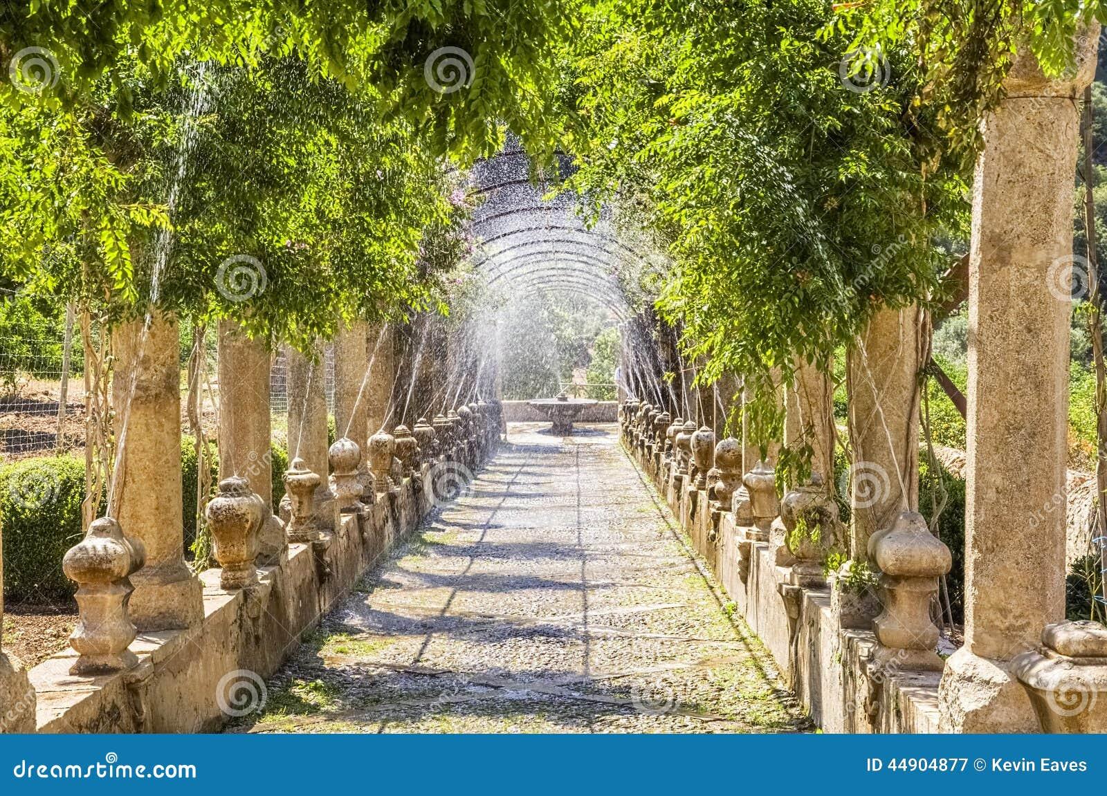 Jardines De Alfabia, Mallorca Stockfoto - Bild: 44904877