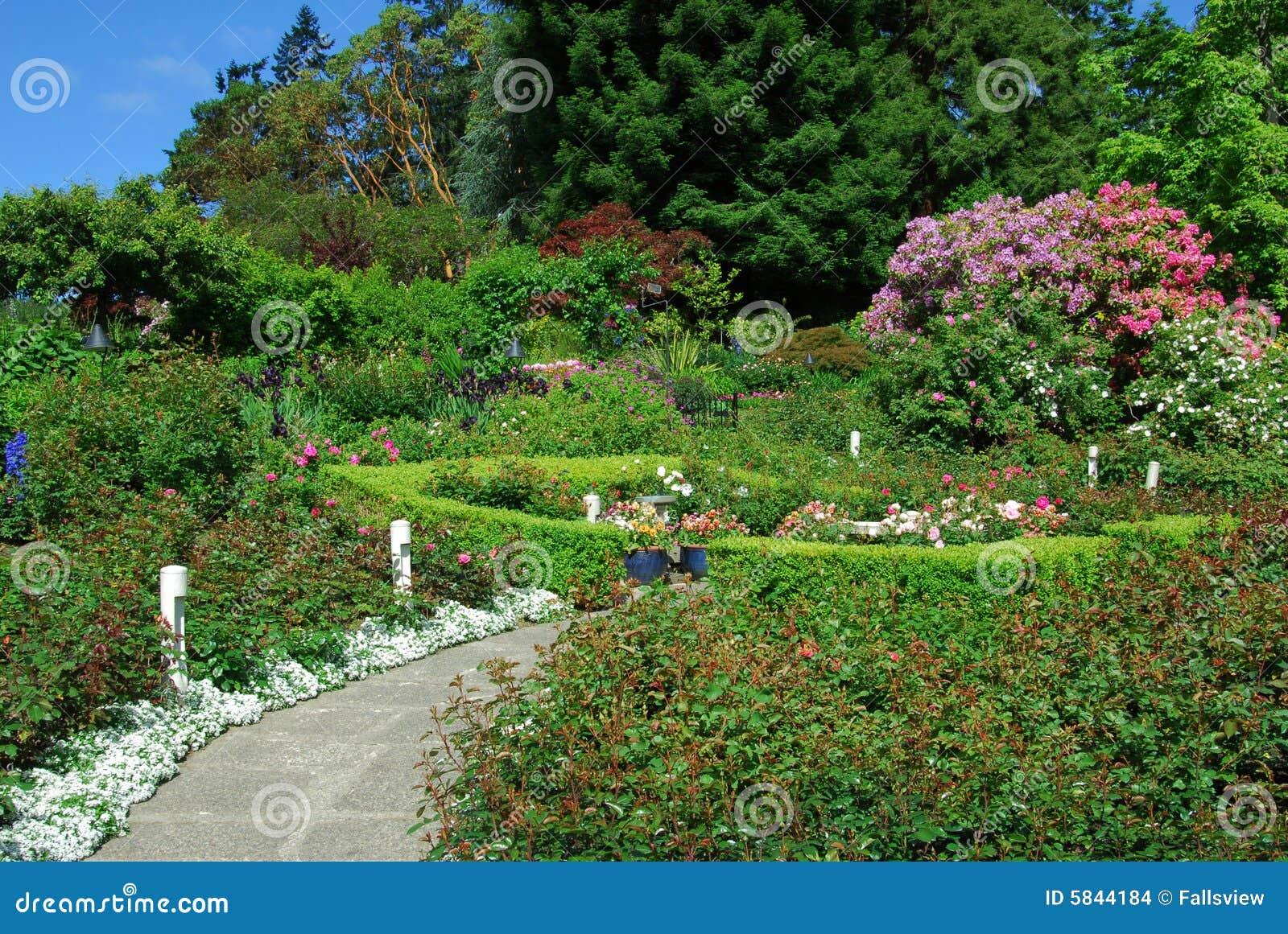 Jardines de butchart imagenes de archivo imagen 5844184 for Jardines butchart