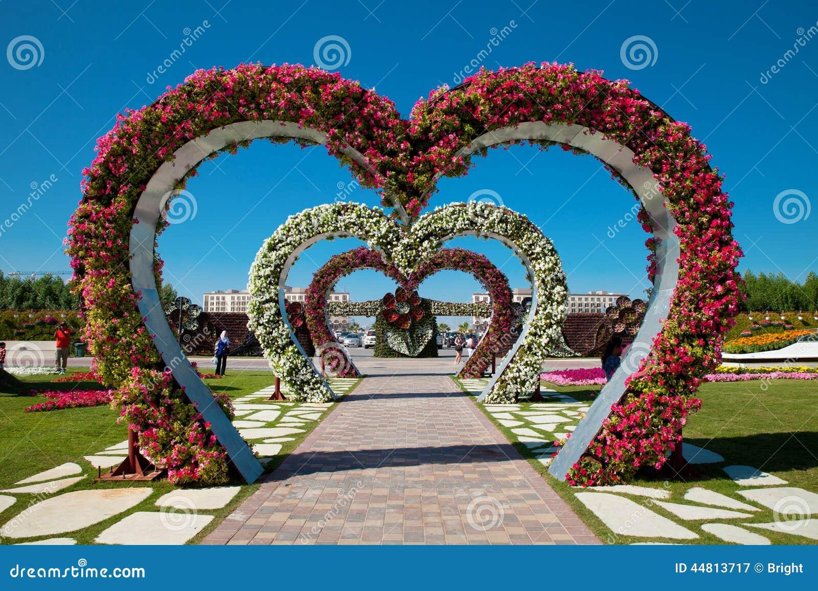 Jardines de flores dubai fotograf a editorial imagen de for Cancion jardin de rosas