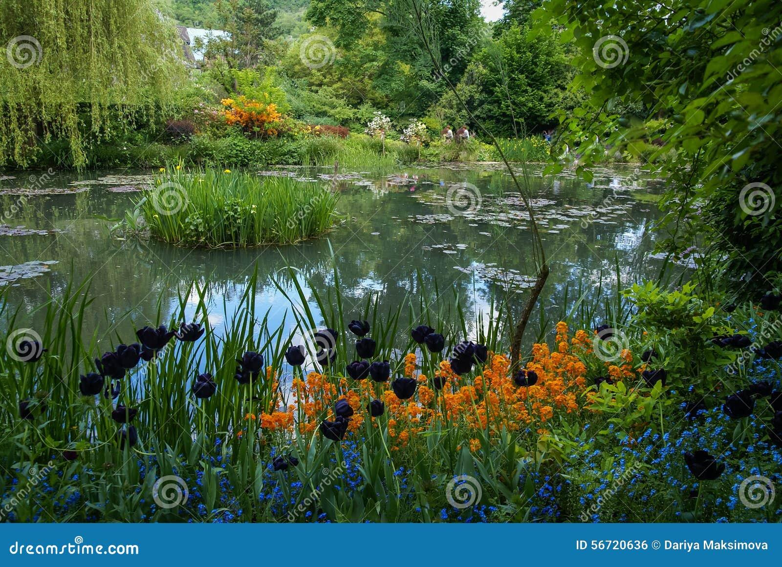 Jardines de la primavera de giverny francia foto de for Jardines de primavera
