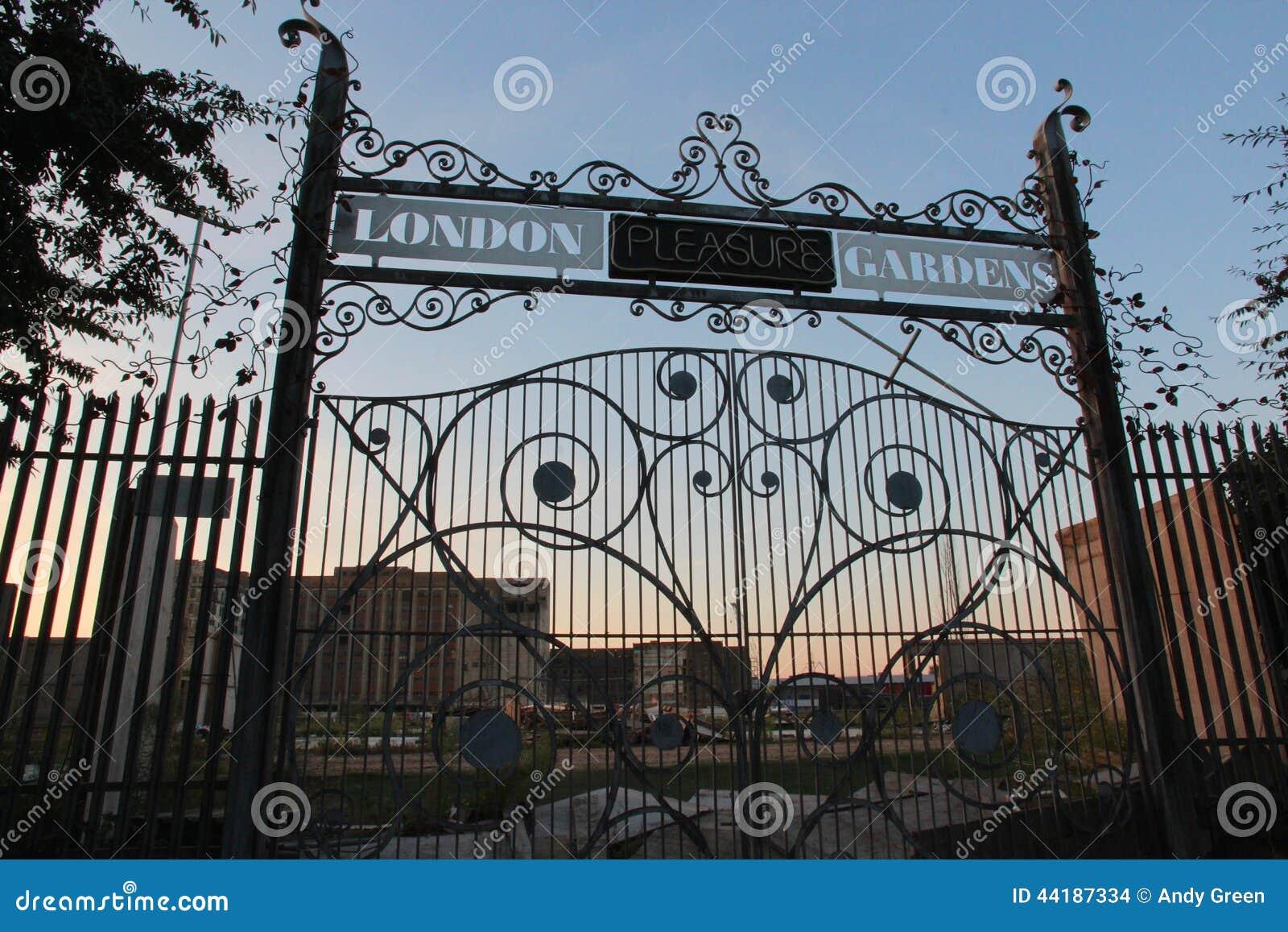 Jardines del placer de Londres