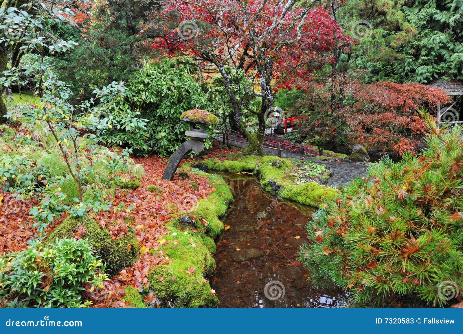 Jardines japoneses imagen de archivo imagen de oto al - Fotos jardines japoneses ...