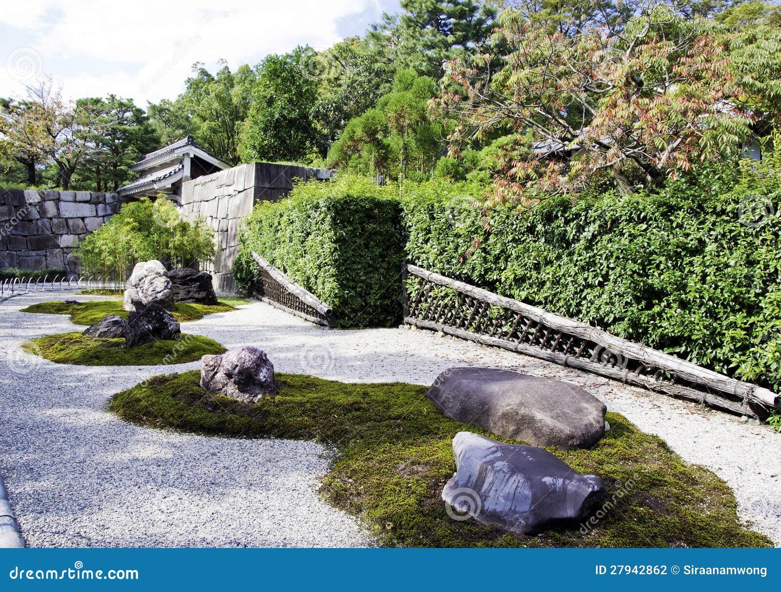 Jardines japoneses del zen fotograf a de archivo imagen for Jardines japoneses zen