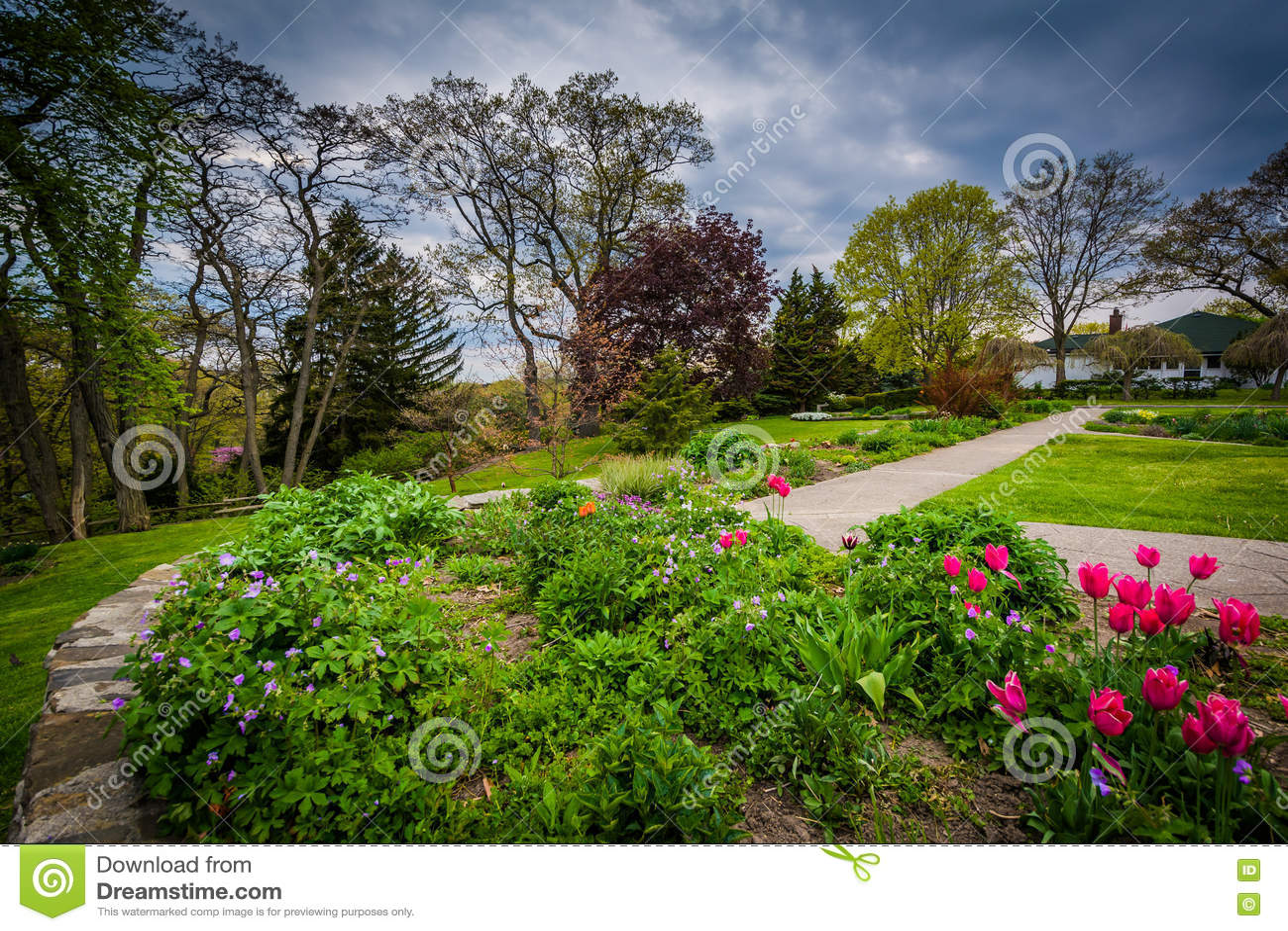 Jardins au haut parc, à Toronto, Ontario