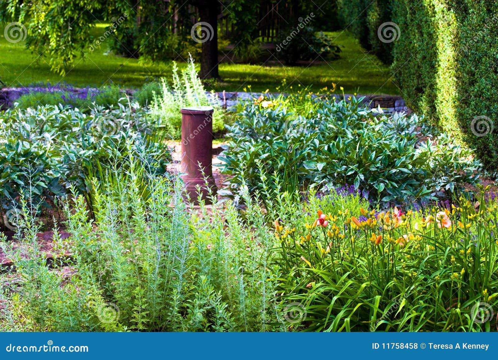 Jardim de flor bonito situado no prazer de Abram em Winchester