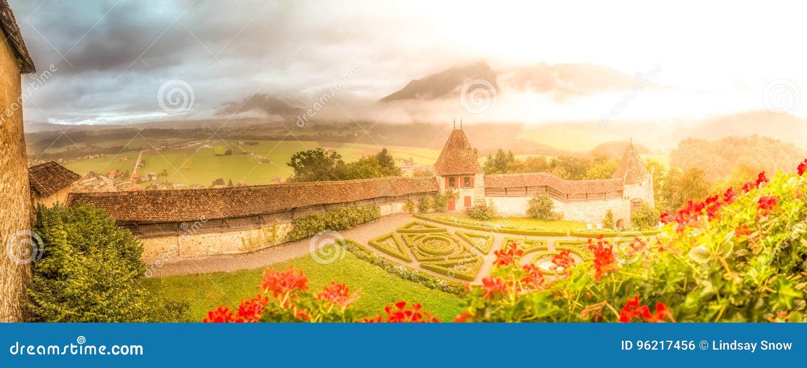 Jardins de château