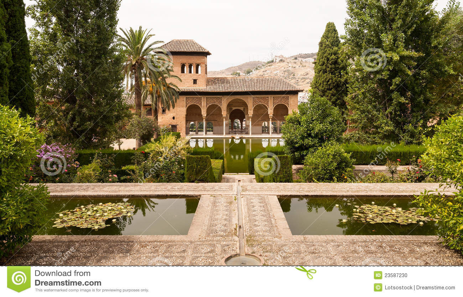 Jardins De Generalife L 39 Int Rieur Du Palais D 39 Alhambra
