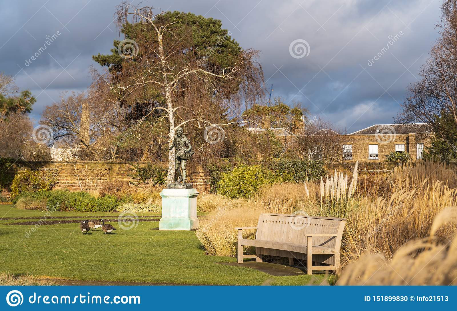 Jardins de Kew en hiver/automne
