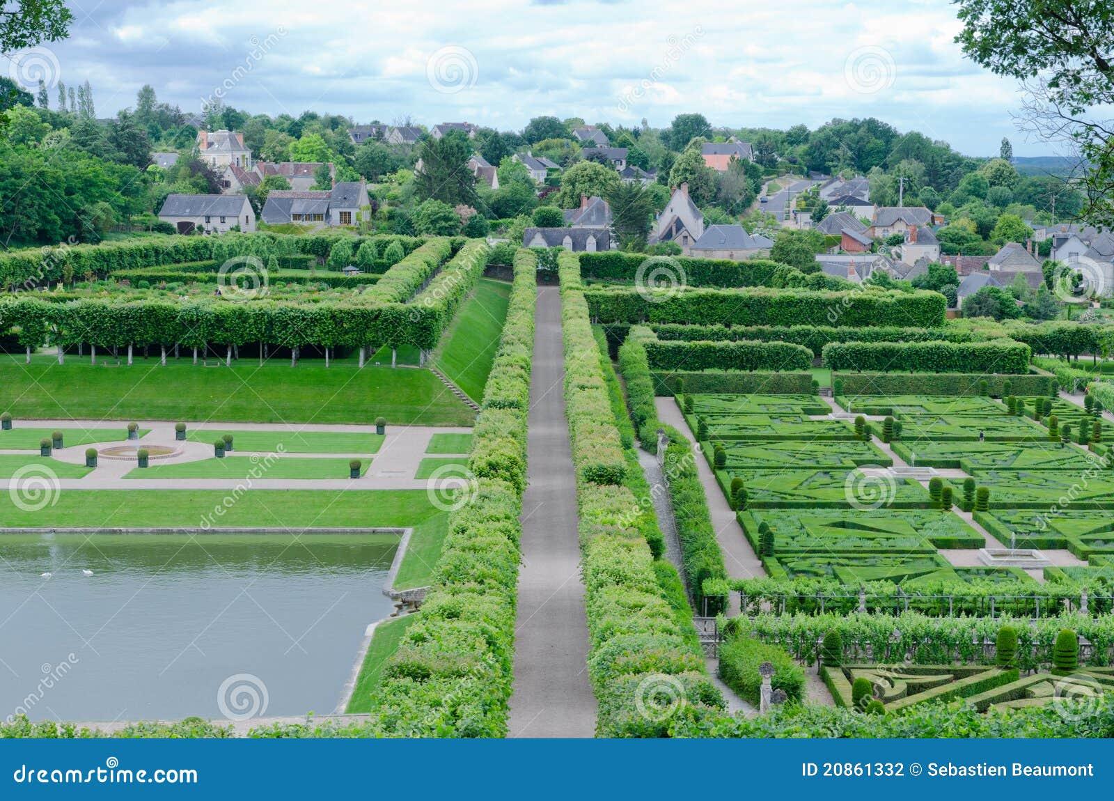 Jardins de villandry stock photography image 20861332 for Jardin villandry