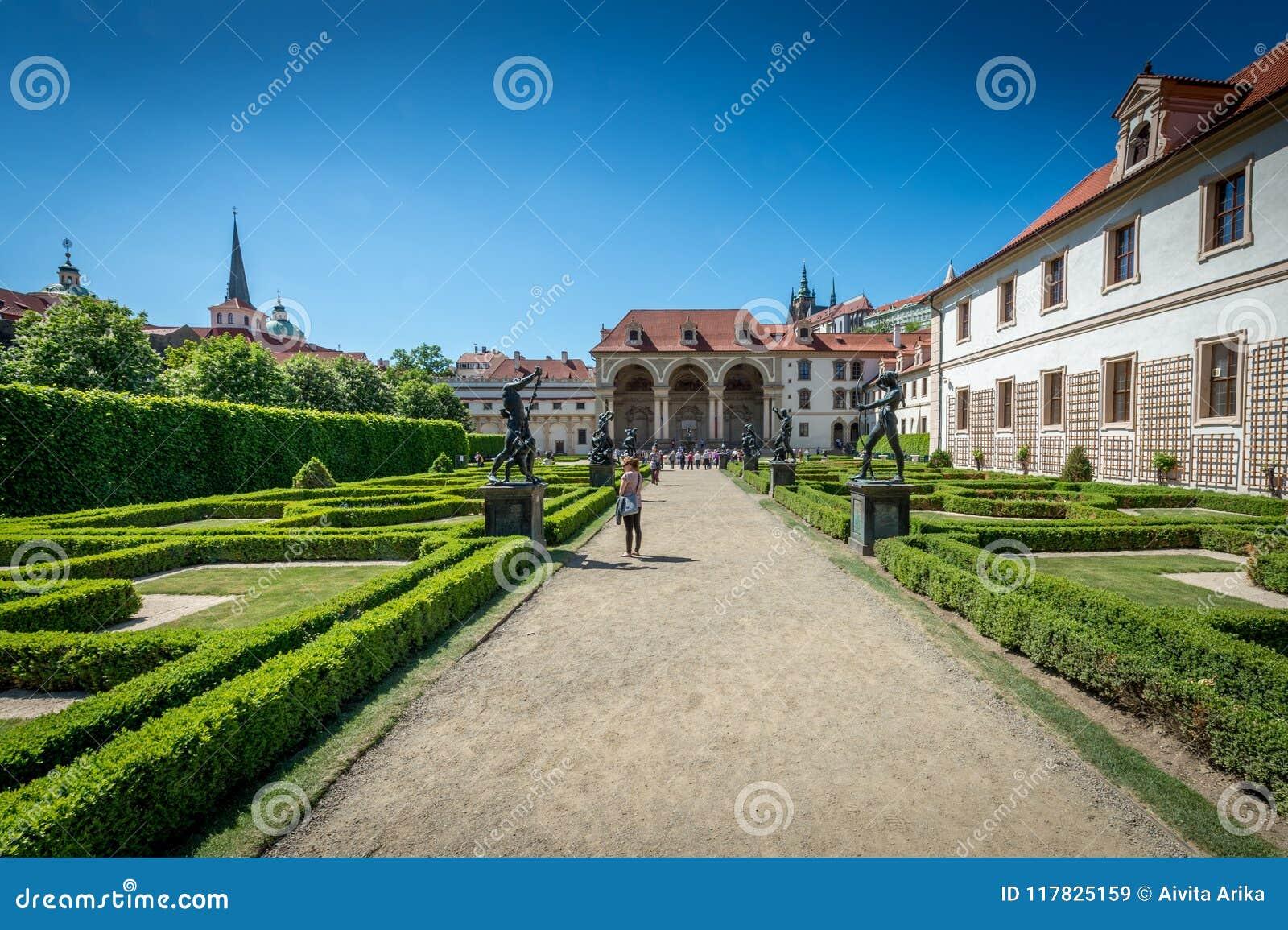 Jardins do palácio de Waldstein