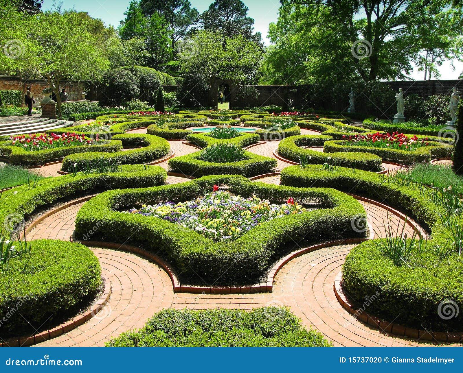 Jardins Históricos Do Palácio Foto de Stock  Imagem 15737020
