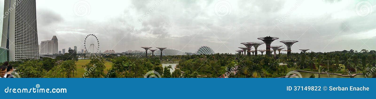 Jardins par la baie à Singapour