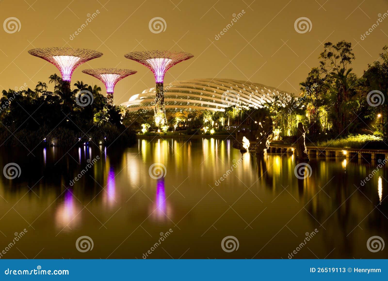 Jardins pelo louro Singapore