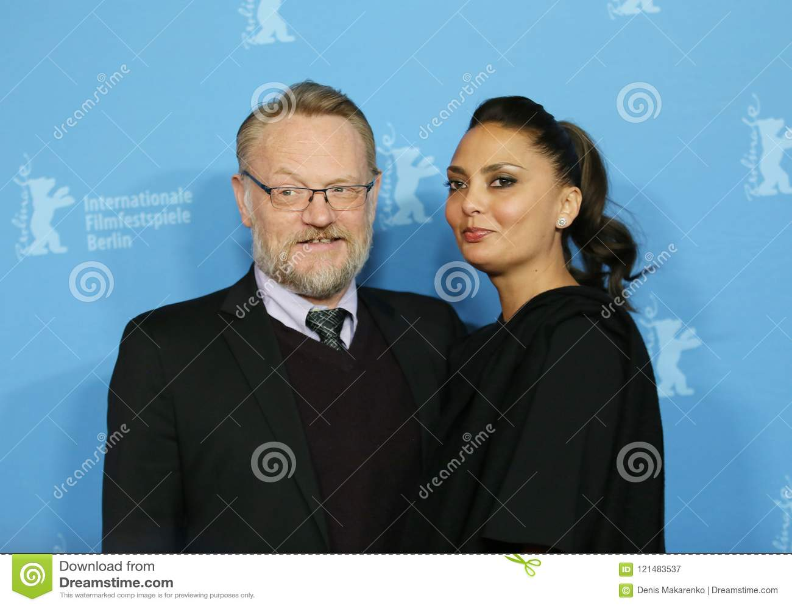 Jared Harris Allegra Riggio i jego żona