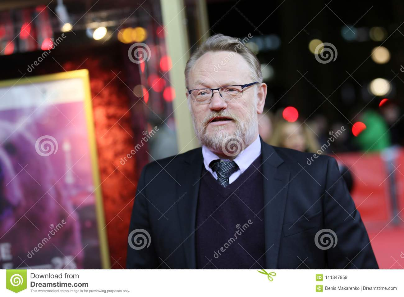 Jared Harris assiste au ` le ` de terreur
