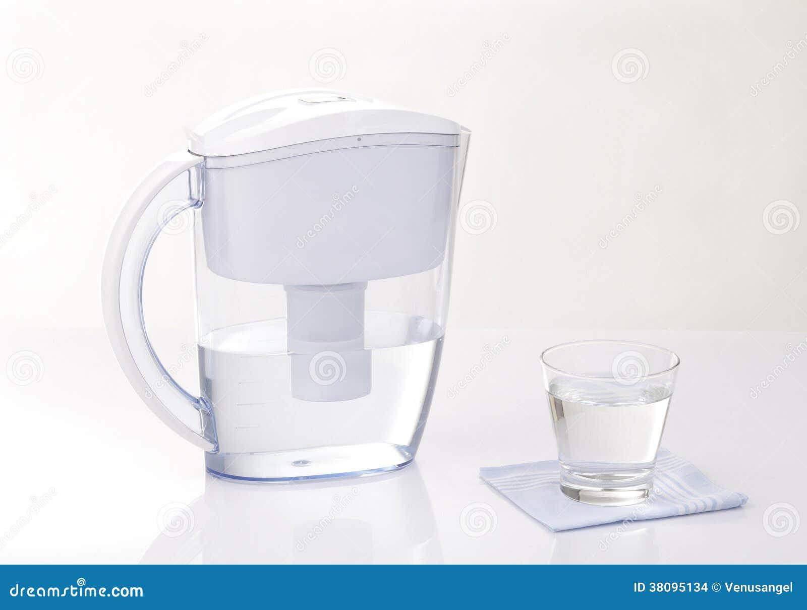 Jarro del filtro de agua