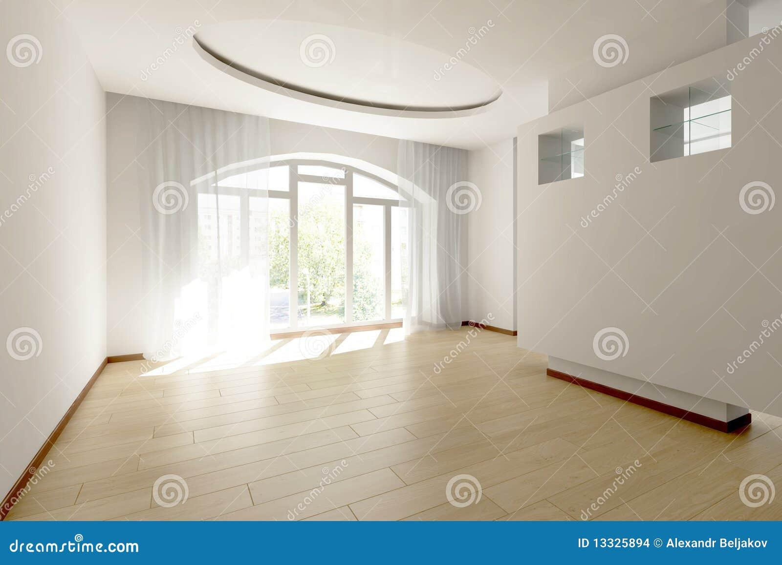 Jaskrawy pusty pokój