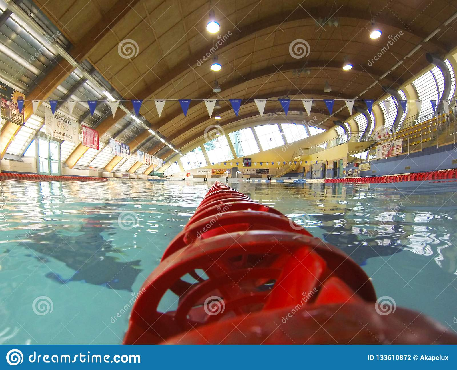 Jaslo poland 9 9 2018 the interior of the indoor - Length of swimming pool in meters ...