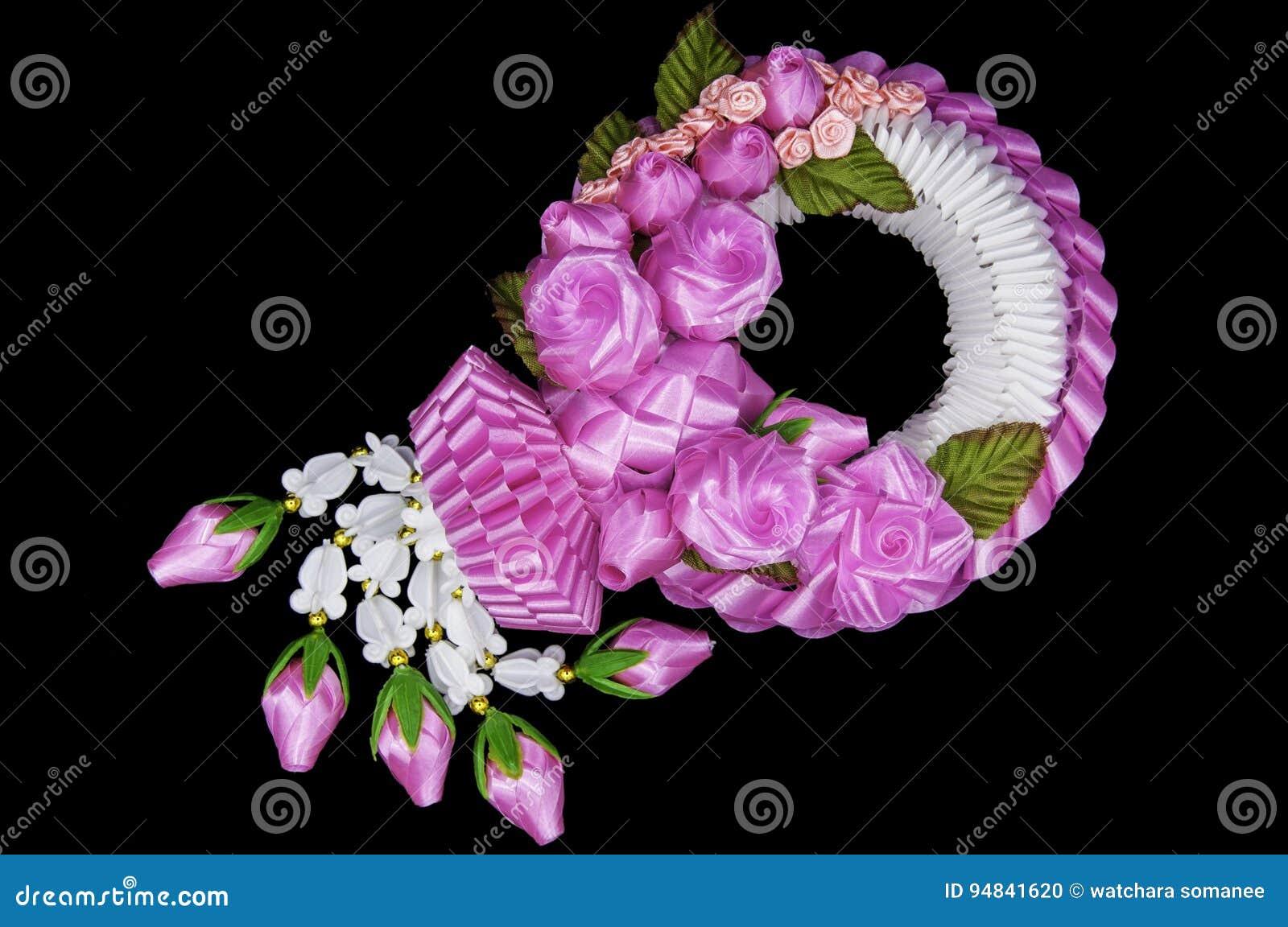Jasmine and pink flower garlands stock photo image of background download jasmine and pink flower garlands stock photo image of background thai 94841620 mightylinksfo