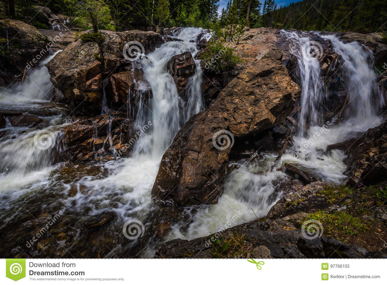 Jasper Creek Falls Colorado