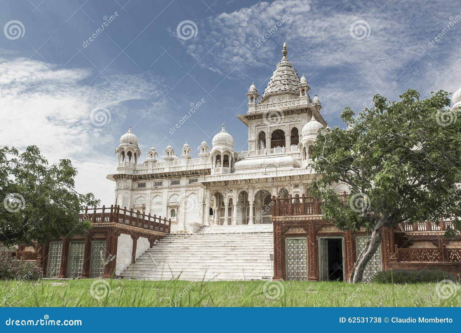 Jaswant Thada寺庙,乔德普尔城-印度