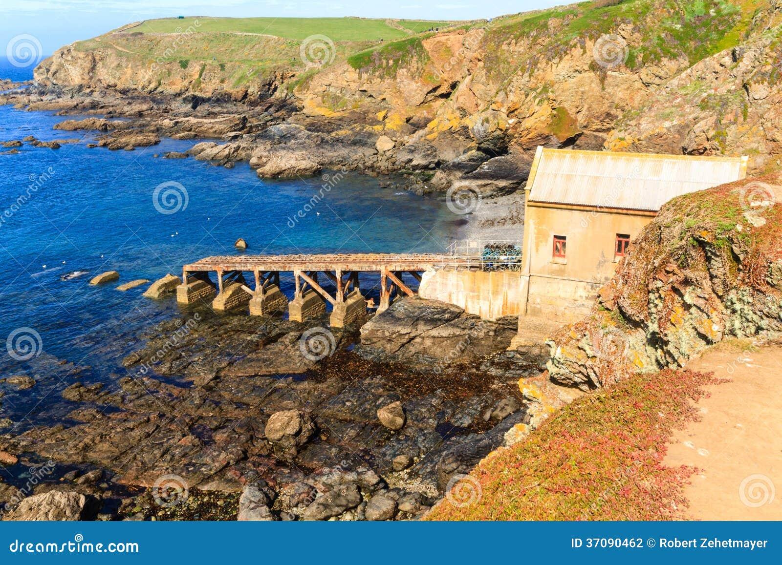 Download Jaszczurka Punkt, Cornwall, UK Zdjęcie Stock - Obraz złożonej z skała, skalisty: 37090462
