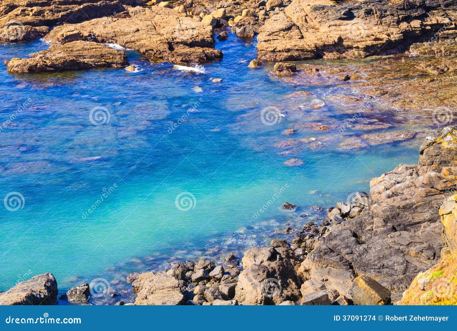 Download Jaszczurka Punkt, Cornwall, UK Zdjęcie Stock - Obraz złożonej z miejsca, błękitny: 37091274