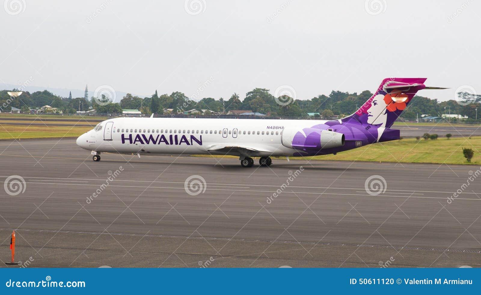 Jato de Hawaiian Airlines Boeing 717