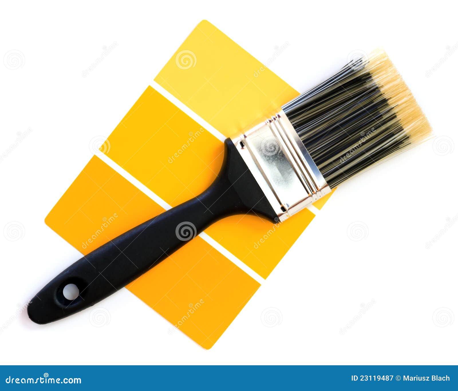 Jaunissez l échantillon de couleur